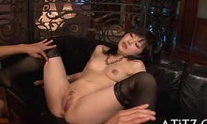 Racy doggy position sex be worthwhile for breasty asian