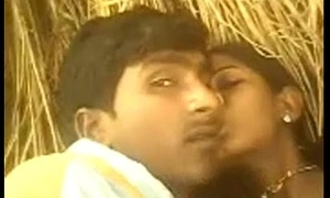 Indian young Hot Bhabhi Saree Pulled With respect to Coupled with Fucked in Backside yard in Village - Wowmoyback