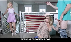 BadMILFS - Super Milf Has Triple on touching Stepson