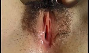 Deliciosa panocha peluda por cam