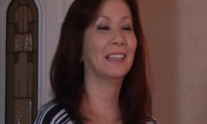 Sexy and sweltering Japanese adult mom