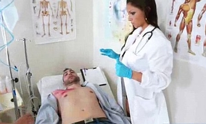 Hot Sex Action Scene With Horny Doctor Coupled with Patient (marta la croft) clip-21