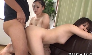 One slut asians and one sex-toy